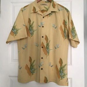 Silk Tommy Bahama Hawaiian Shirt